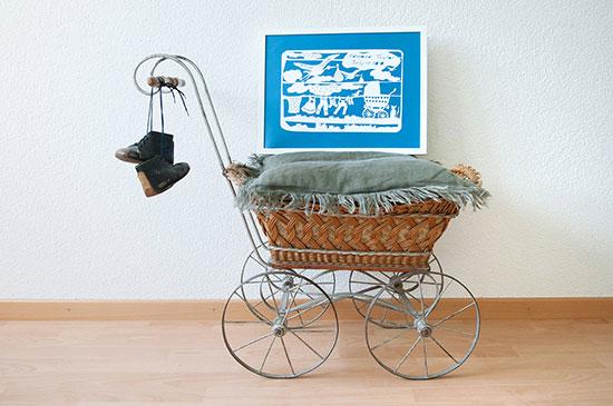 Frame - Baby cart
