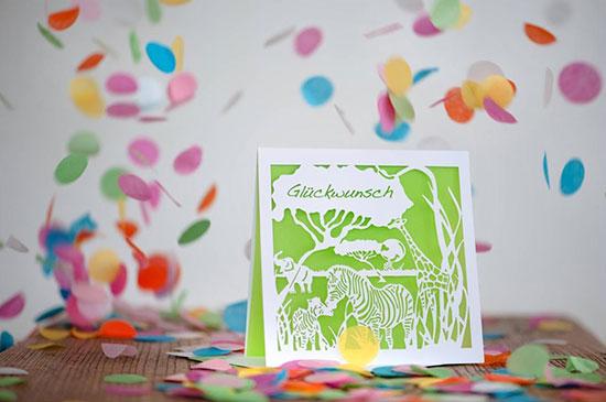 Card - Confetti