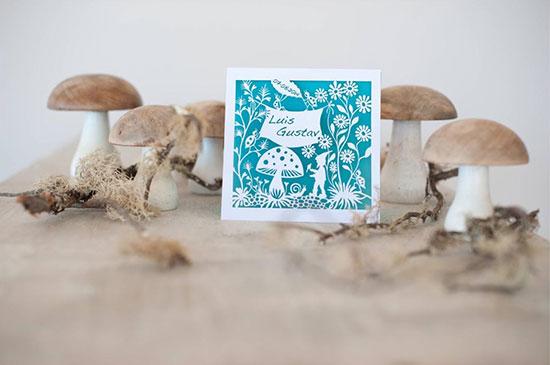 Card - Mushrooms