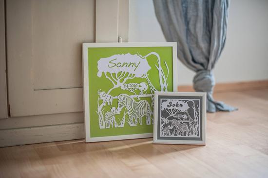 Small Frame - Safari Mania