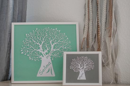 Small wall art - Tree 2